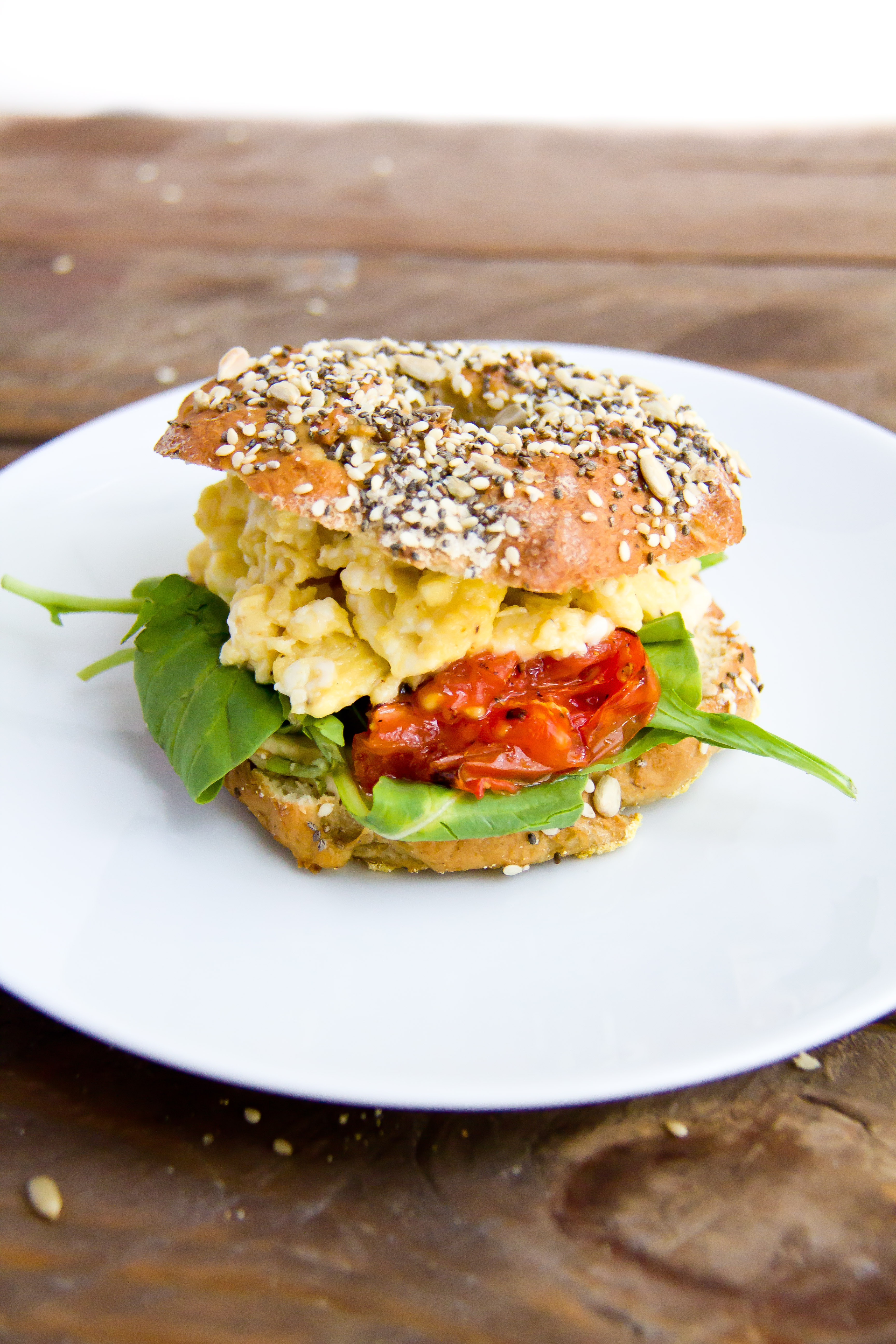 Gluten Free Pretzel Bagels with Chia, Sesame & Sunflower Seeds