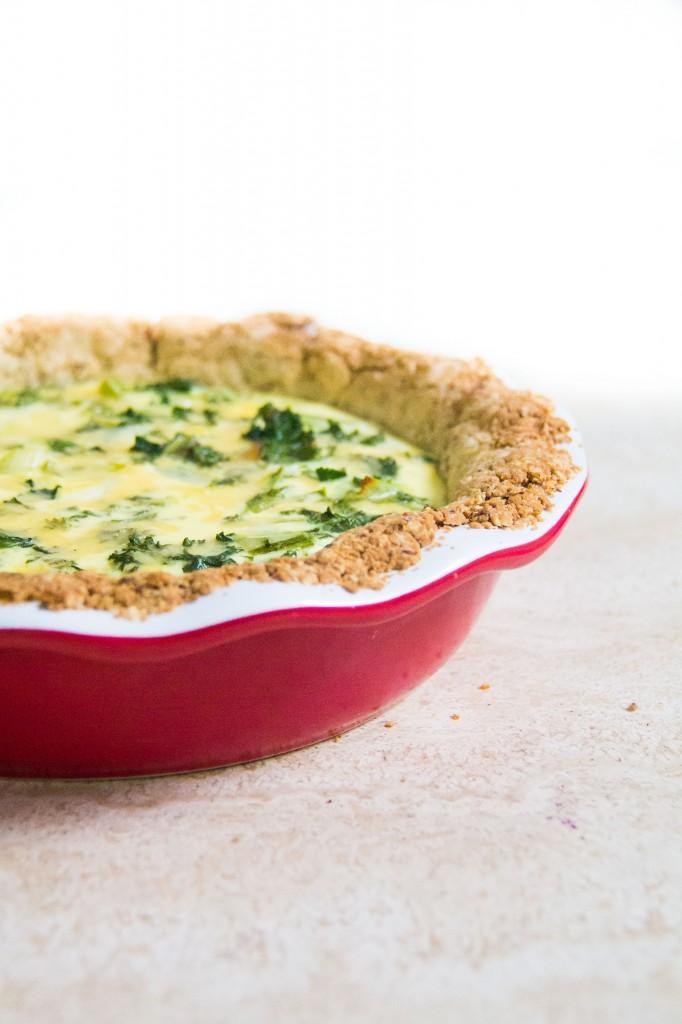 Kale-Green Onion Quiche (9 of 10)