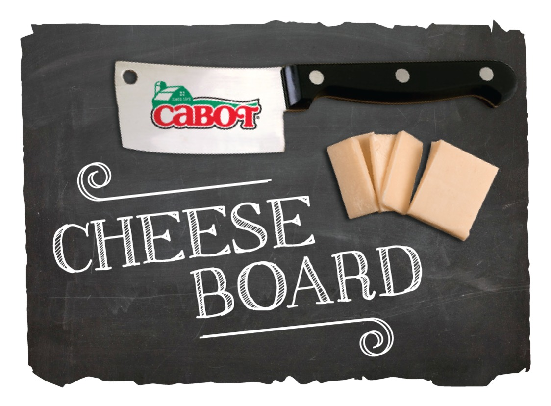 Cabot Cheese Board