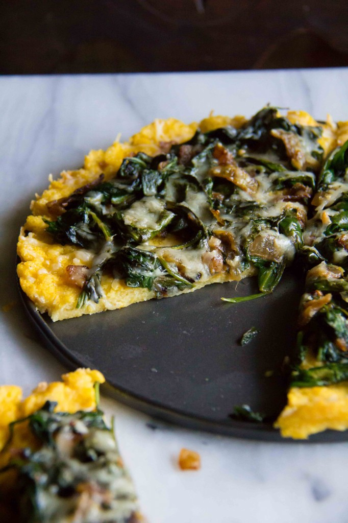 Polenta Tart with Asiago Spinach (7 of 7)