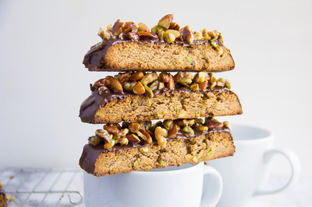 Baklava Whole Wheat Biscotti-5