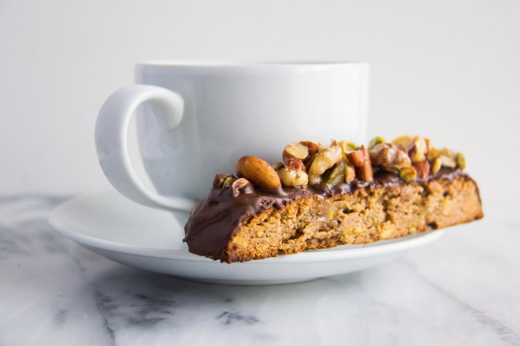 Baklava Whole Wheat Biscotti-8