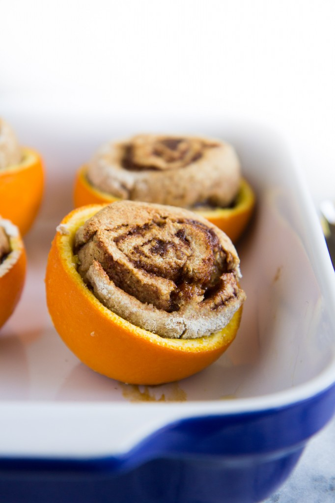 Cinnamon Rolls in Orange Cups-11