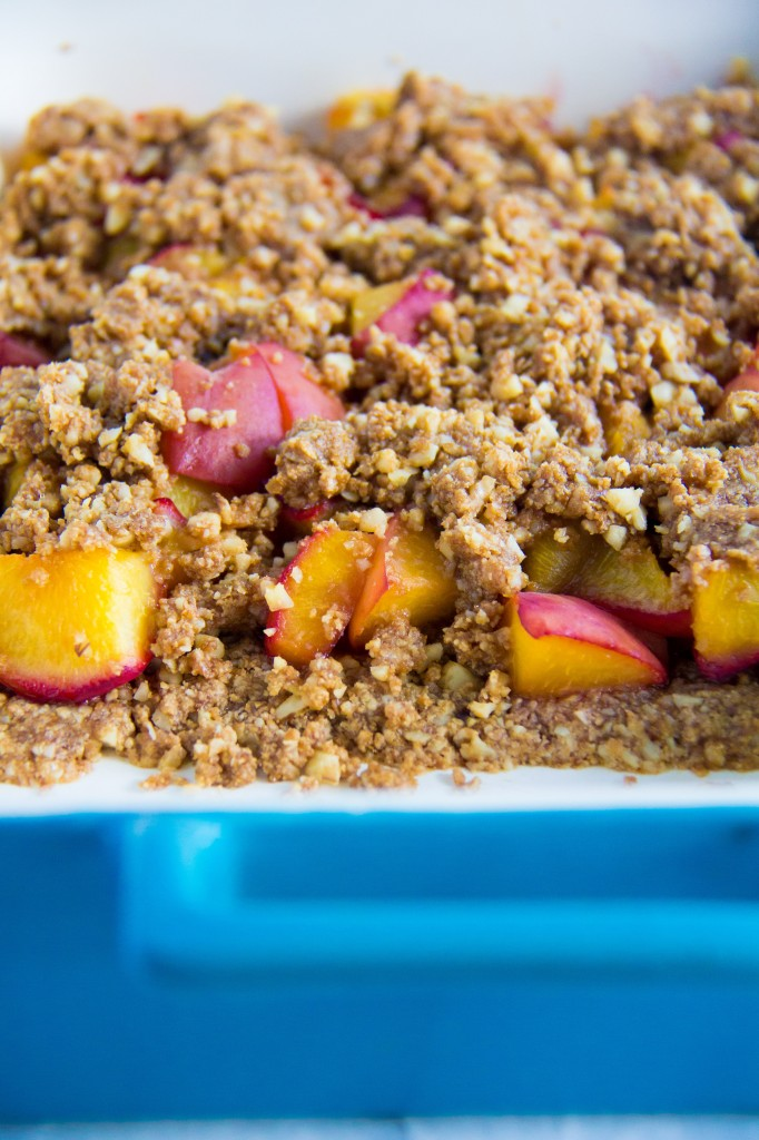 Roasted Peach Crumble-5