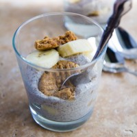 Peanut Butter Cookie Chia Seed Banana Pudding-4