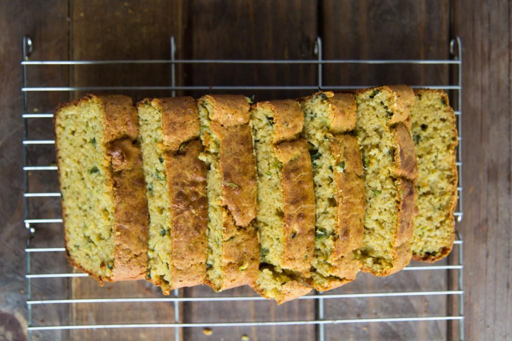Zucchini Poblano Cornbread-7