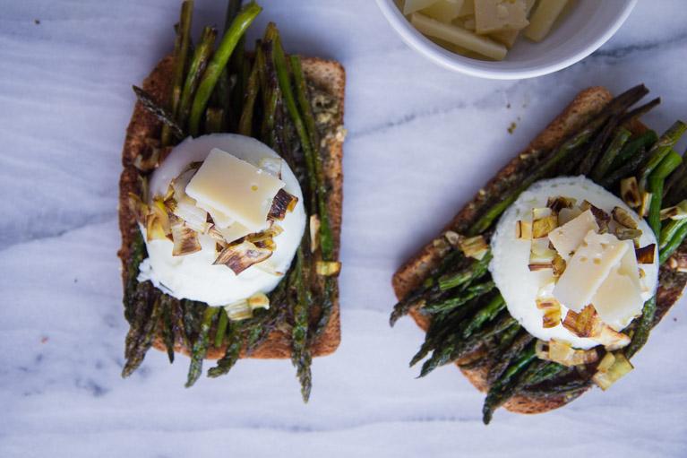 Asparagus Toast-6