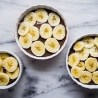 Caramelized Banana Chocolate Creme Brulee