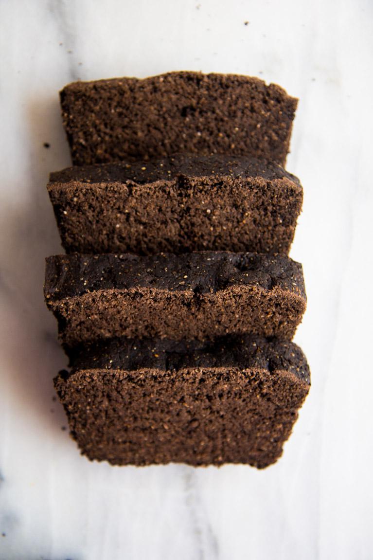 Cocoa Whole Wheat Bread-3