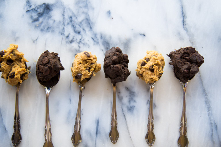 Spoonfuls of healthy cookie dough | Yeah...immaeatthat