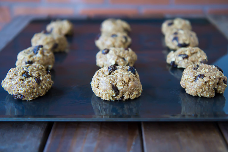 Vegan Oatmeal Cookies-3