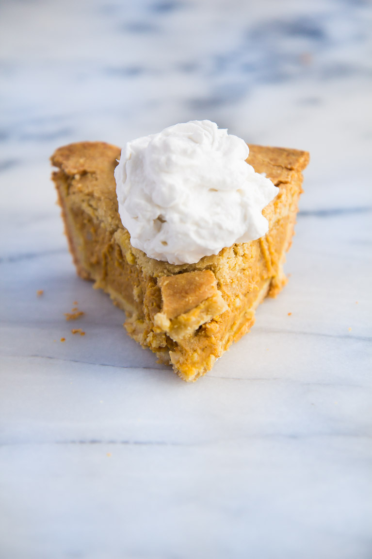 Healthier Pumpkin Pie with double the crust!!! #almondflour #glutenfree #thanksgiving