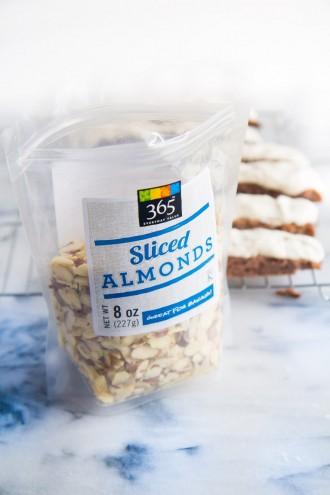 {Gluten Free} Raspberry Almond Biscotti