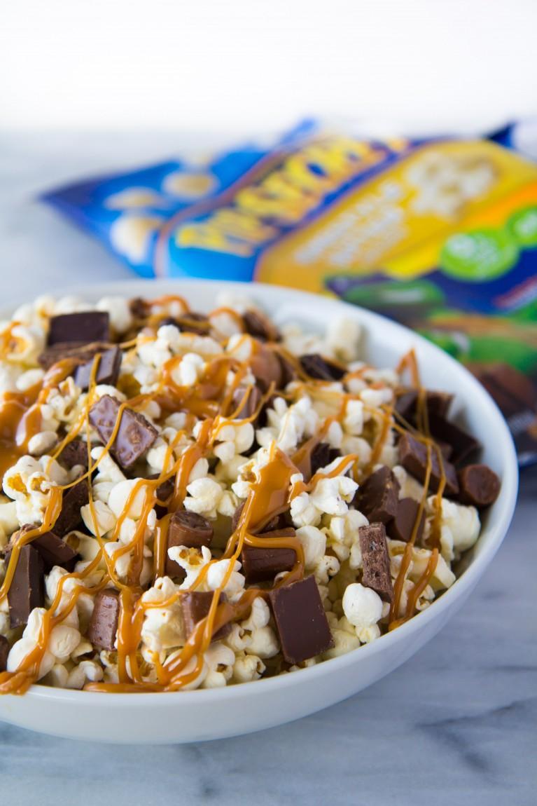 Tootsie Rolls + Chocolate Bars + Caramel + Homestyle Pop Secret-2