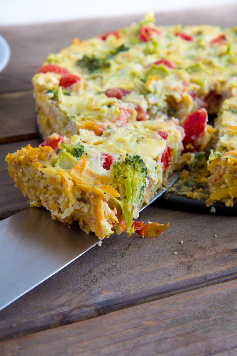 Sweet Potato Crust Quiche! The perfect #glutenfree quiche!