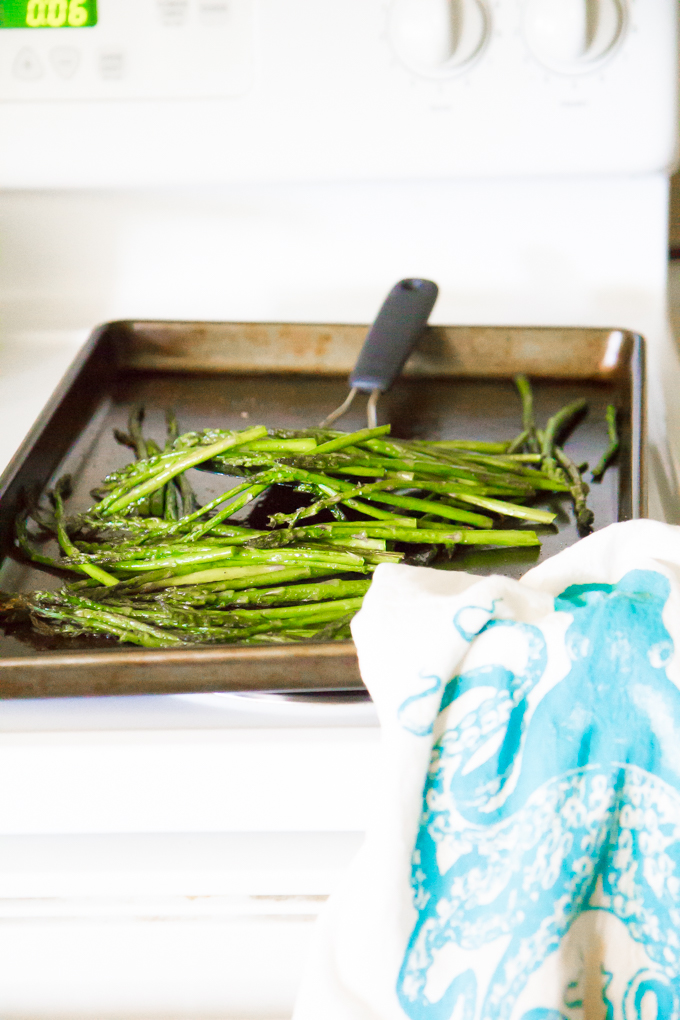 coconut asparagus risotto-5