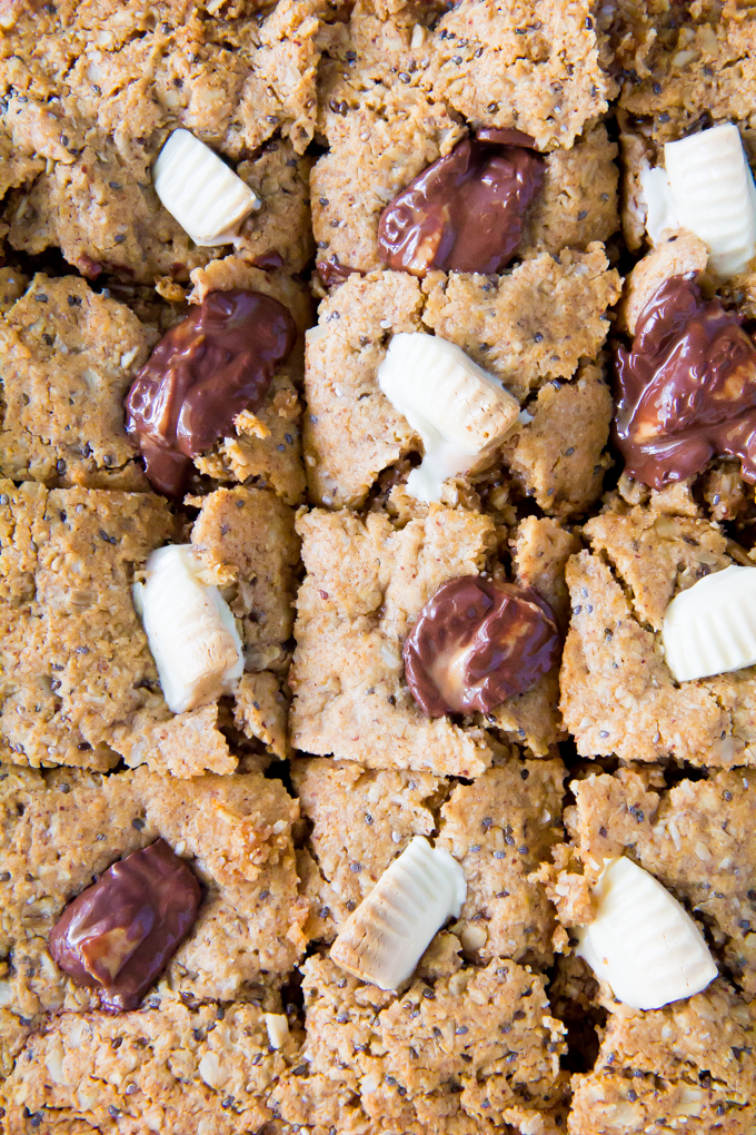 thick & chewy almond butter granola bars \\ immaEATthat