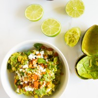 Sweet & Spicy Pineapple Guacamole \\ immaEATthat.com
