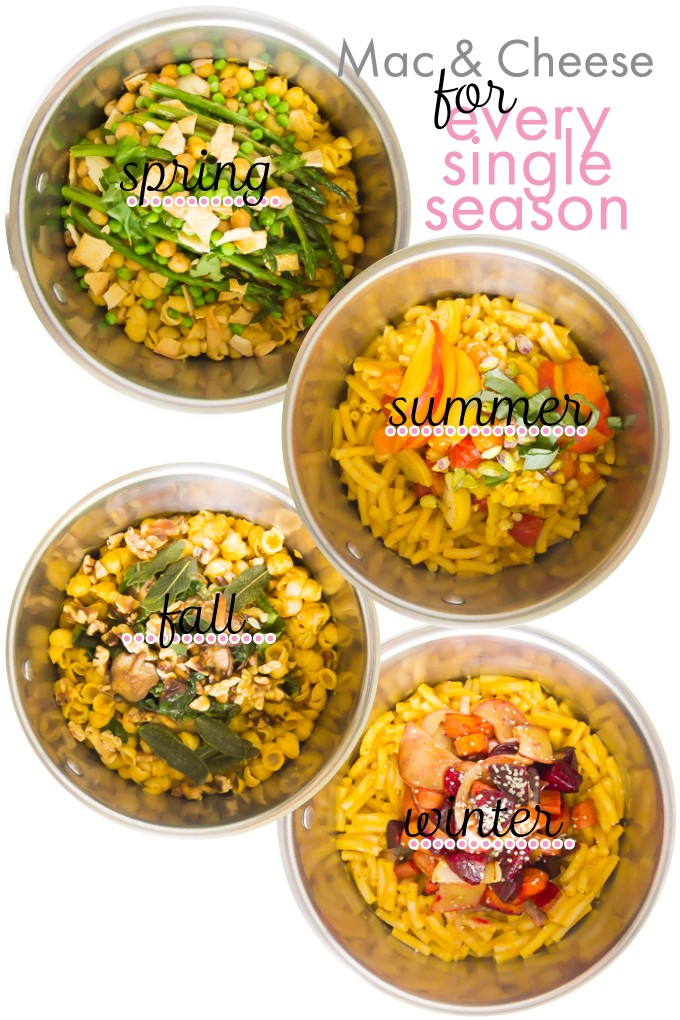 Mac & Cheese for every season \\ immaEATthat.com