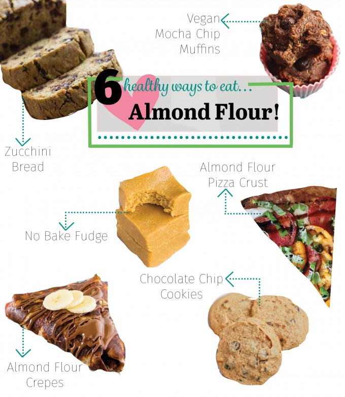 6 Healthy Recipes with Almond Flour | immaEATthat.com