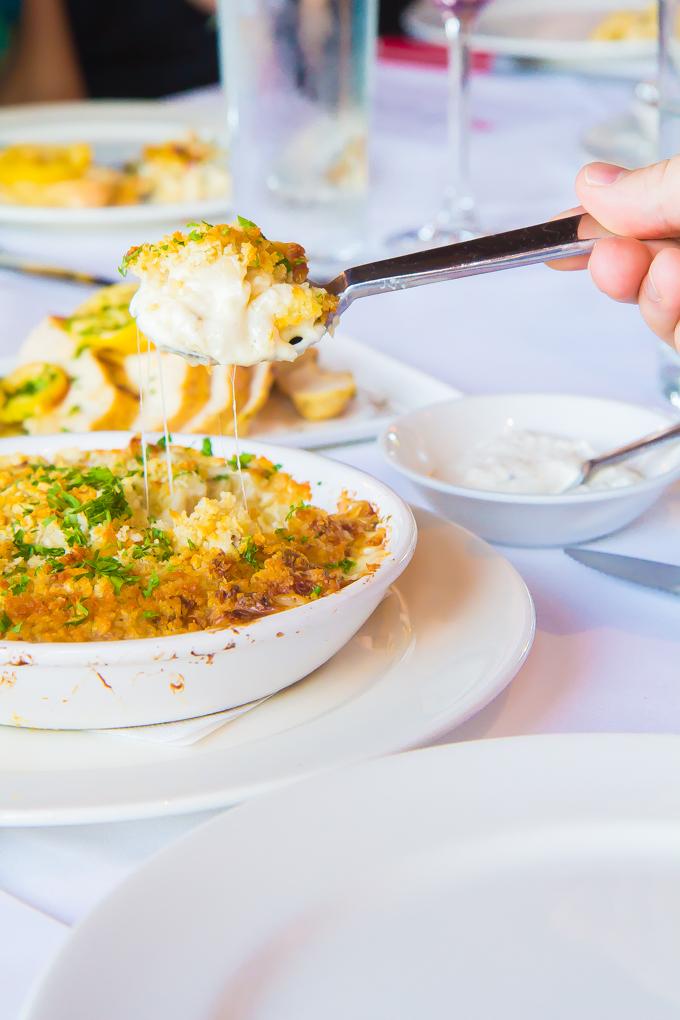 Truffle mac n cheese \\ immaEATthat.com