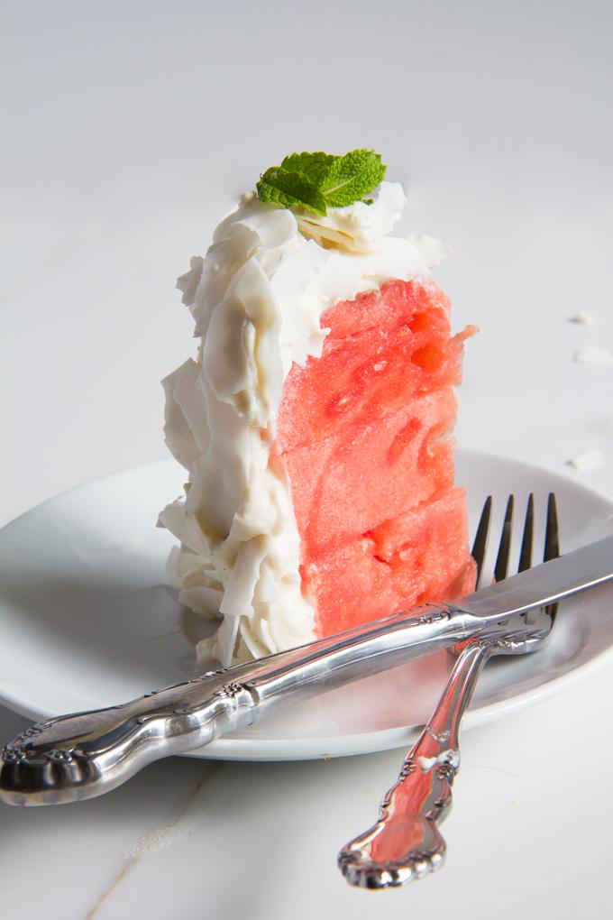 watermelon cake \\ immaEATthat.com