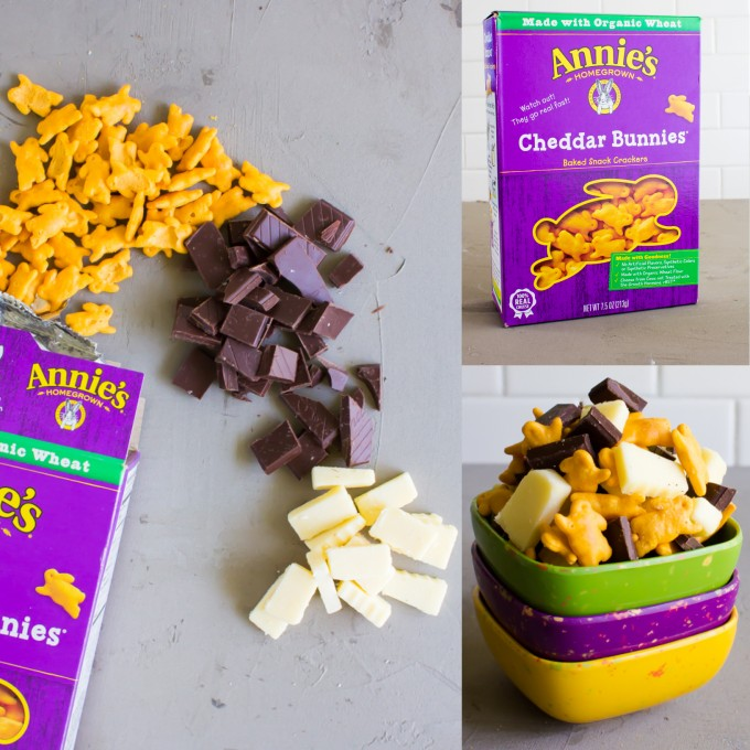cheddar bunnies snack mix \\ immaEATthat.com