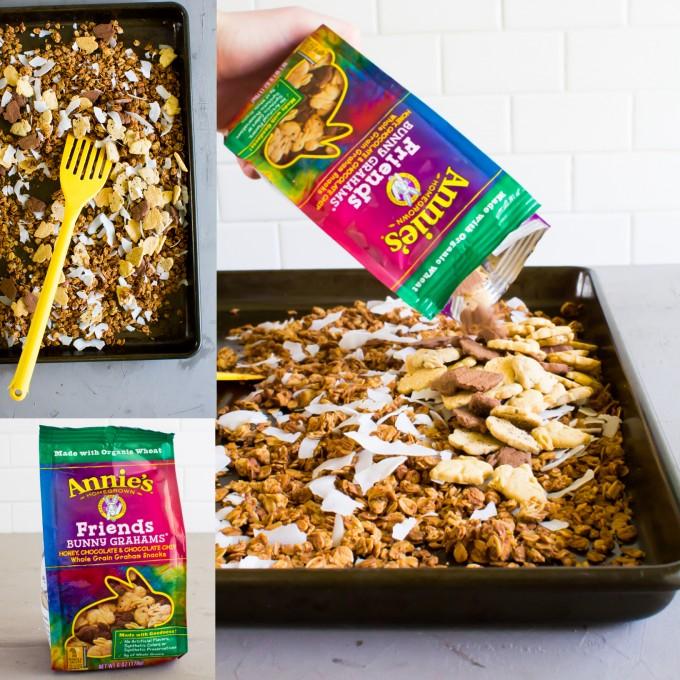 cookie graham granola \\ immaEATthat.com