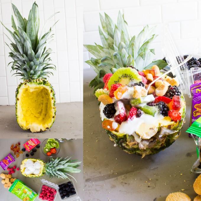 Summer Pineapple Bowls \\ immaEATthat.com