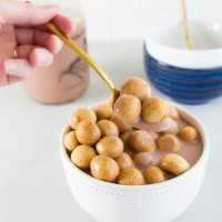 Peanut Butter Cookie Cereal | immaEATthat.com