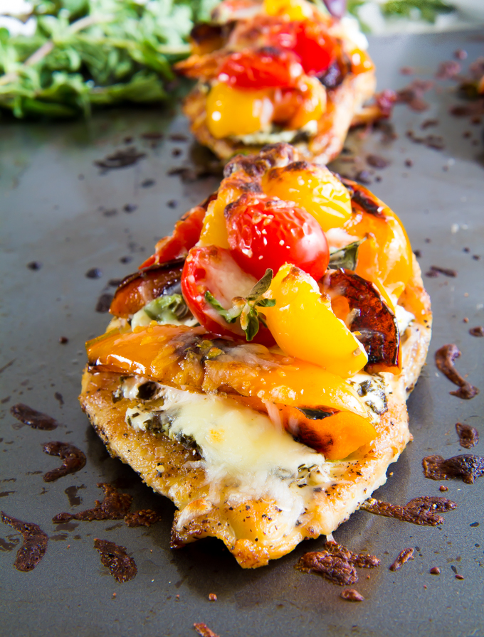 Pizza Chicken | immaEATthat.com