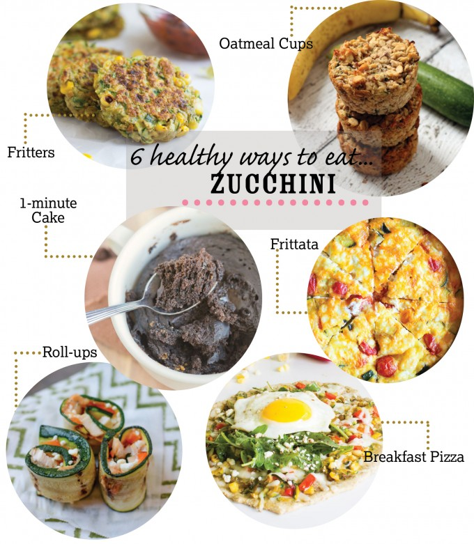 6 Healthy Ways to Eat Zucchini | immaEATthat.com