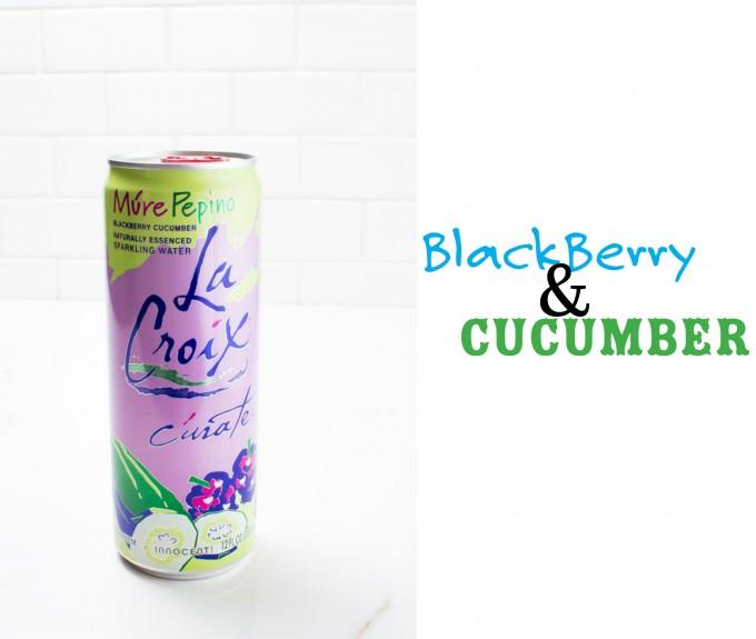 la croix blackberry cucumber | immaEATthat.com