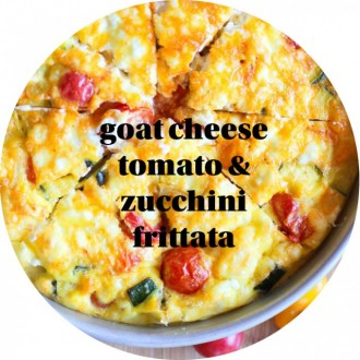 goat cheese frittata