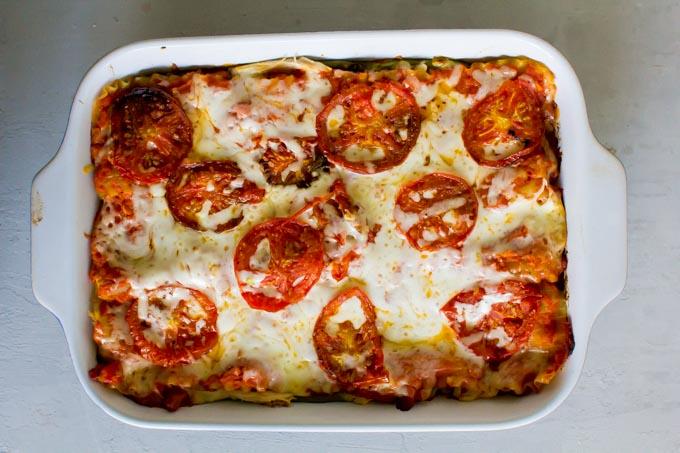 avocado cream lasagna | immaEATthat.com