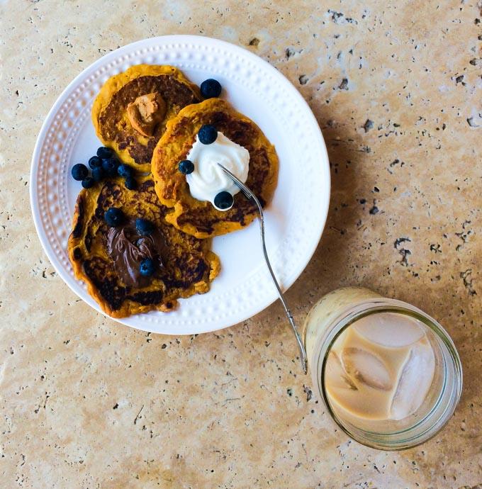 pumpkin pancakes | immaEATthat.com