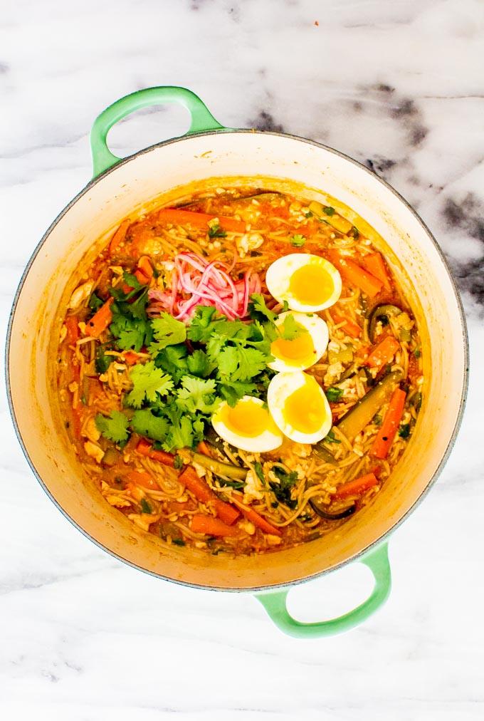 bibimbap soup | immaEATthat.com