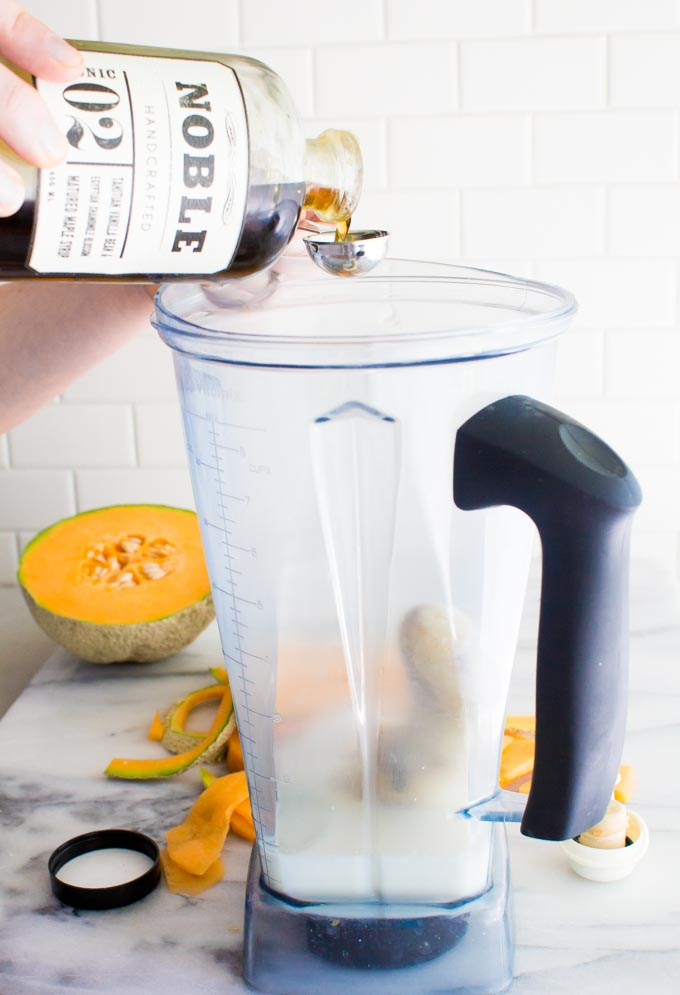 maple vanilla bean smoothie | immaEATthat.com