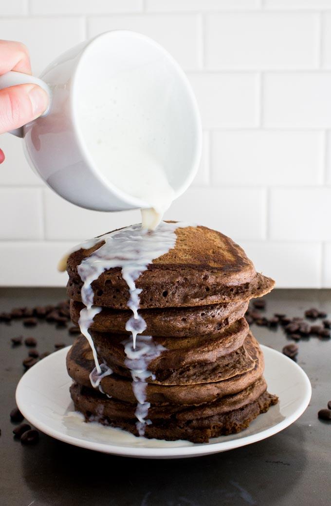 coffee pancakes | immaEATthat.com