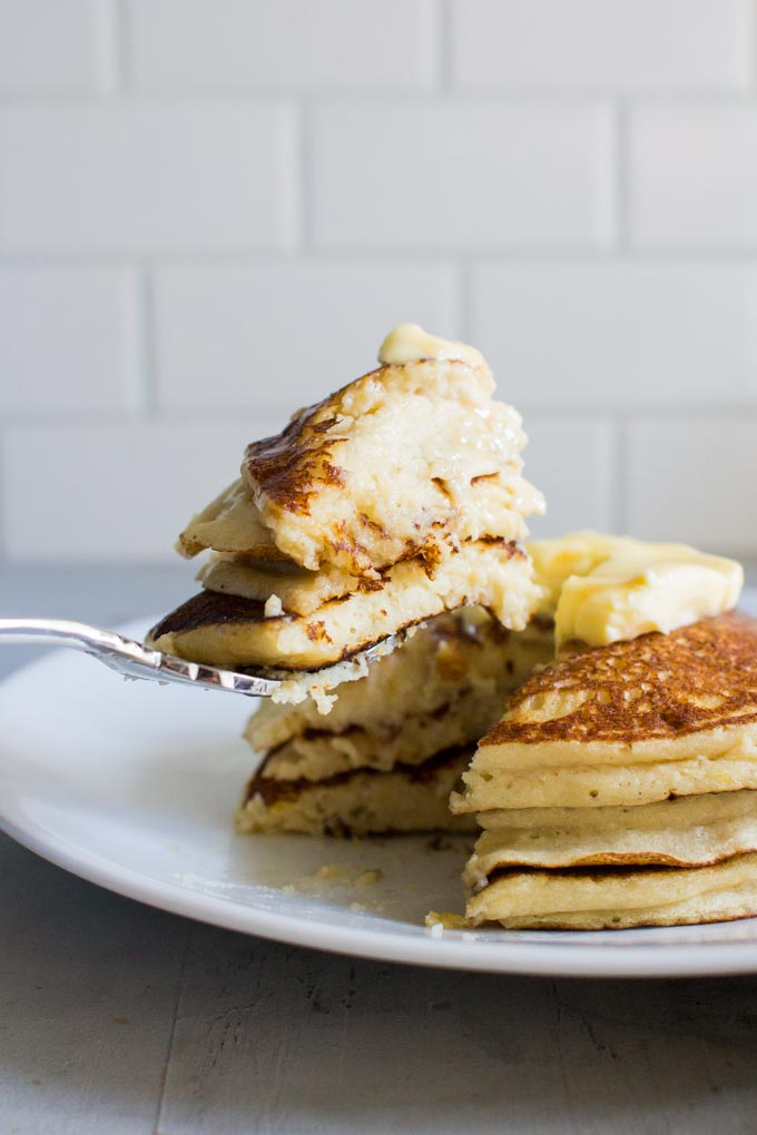 Ricotta Pancakes | immaEATthat.com