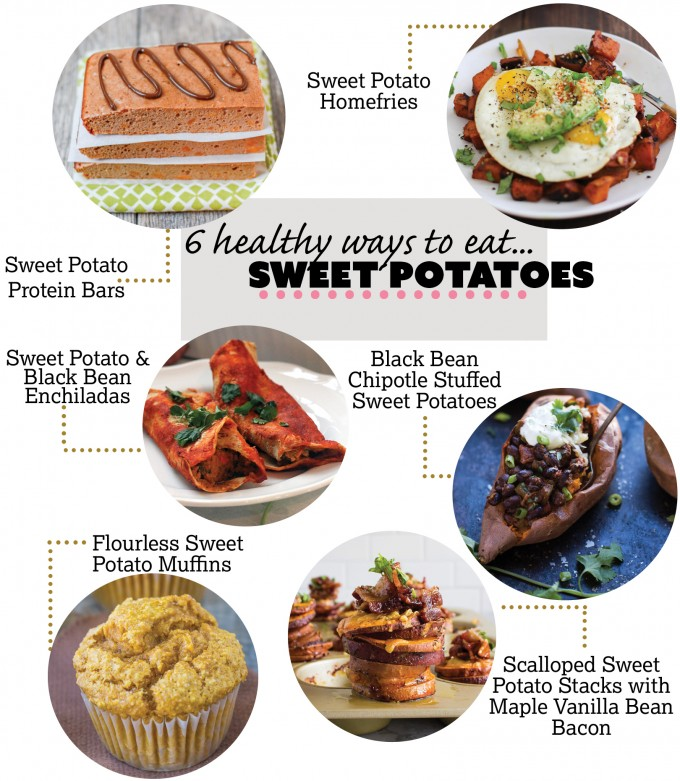 6 Tasty Sweet Potato Recipes! Perfect for holiday sweet potato needs. | immaEATthat.com