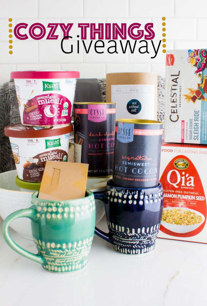 cozy things giveaway | immaEATthat.com