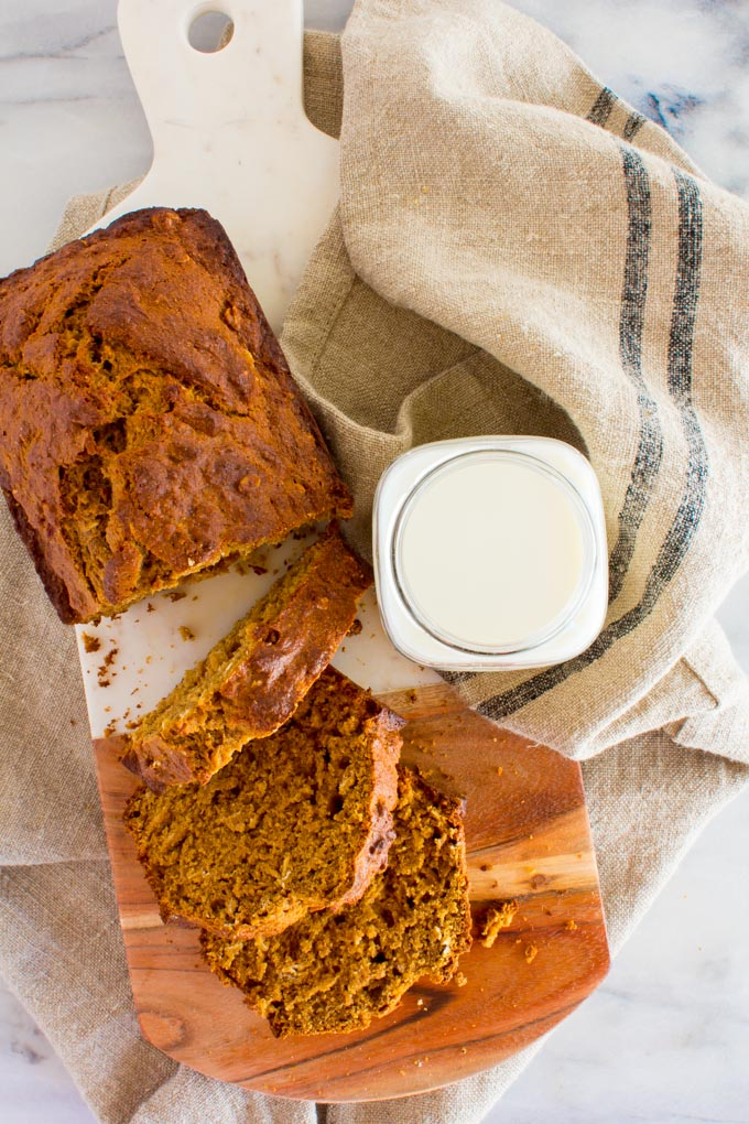 gingerbread banana bread | immaEATthat.com