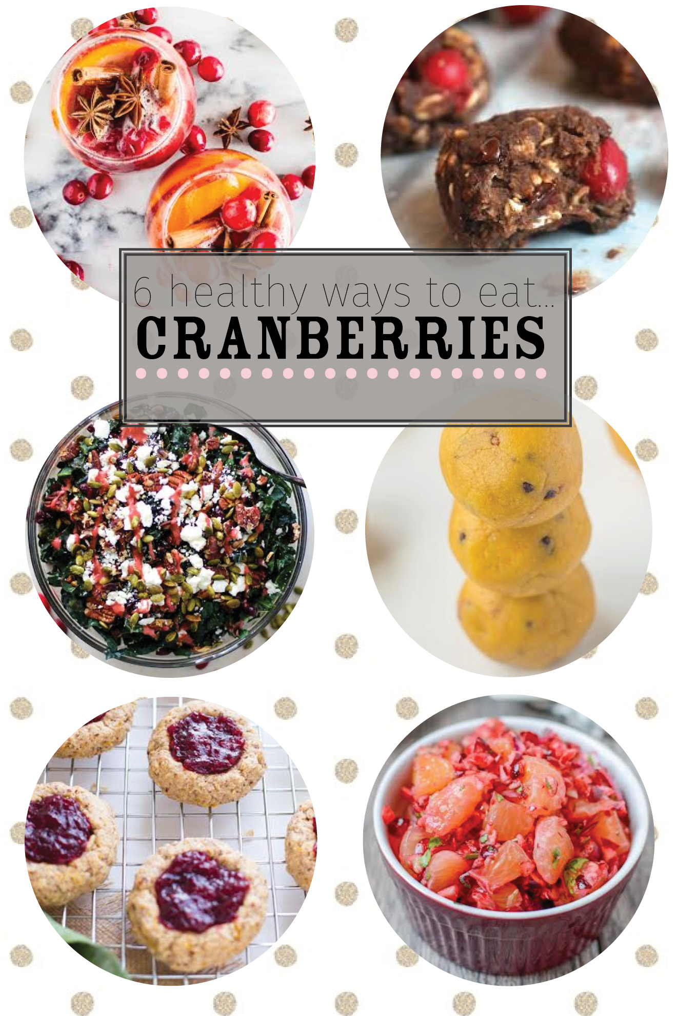 6 Healthy Ways to Eat Cranberries | immaEATthat.com