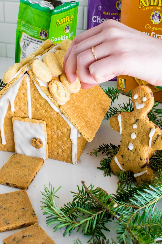 graham cracker gingerbread house | immaEATthat.com