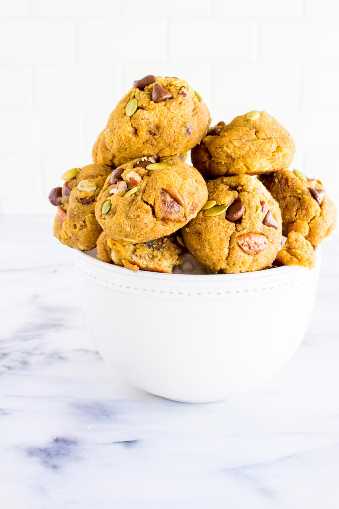coconut flour breakfast cookies | immaEATthat.com
