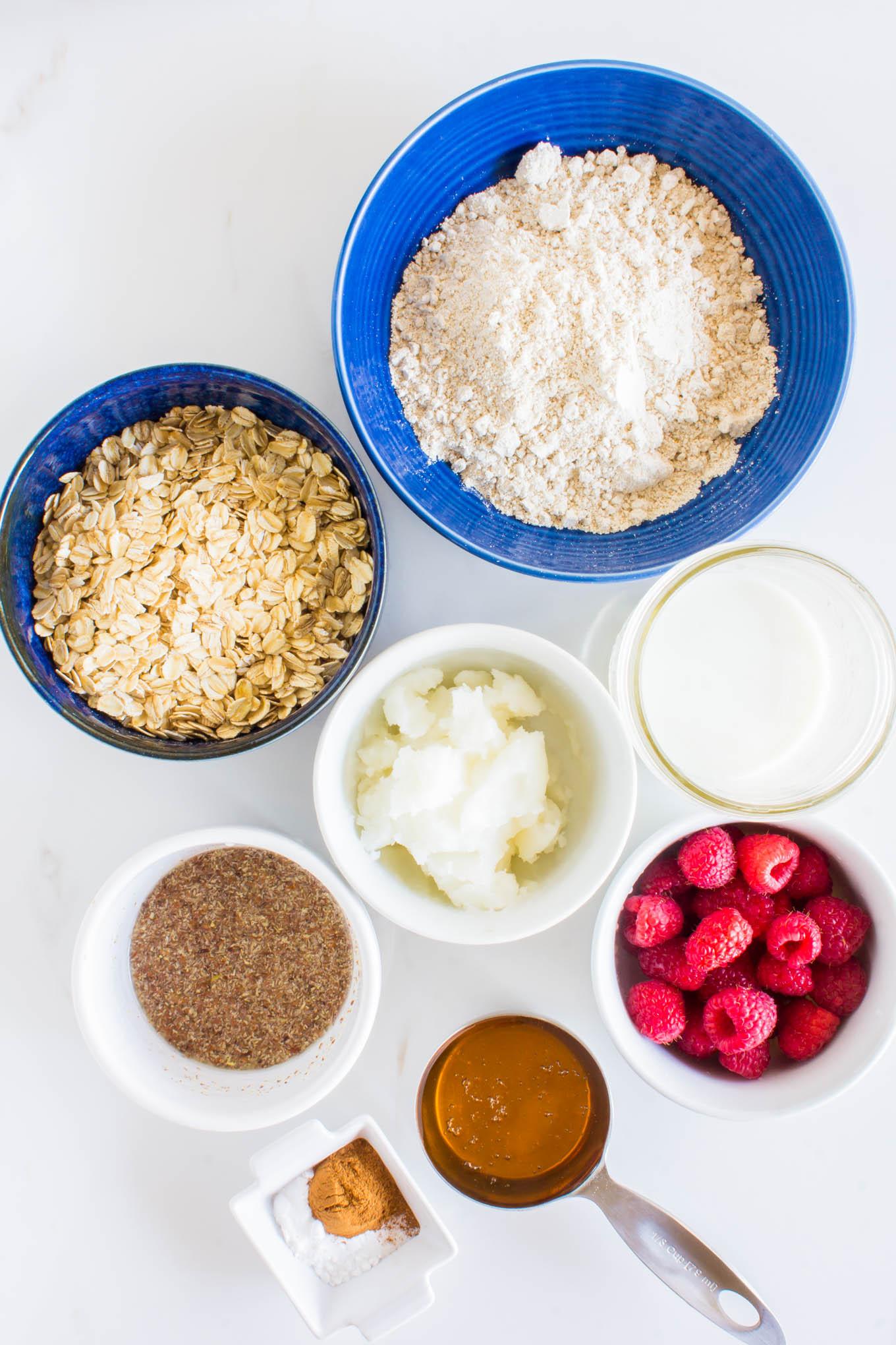 heart-shaped oatmeal breakfast cookie   immaEATthat.com