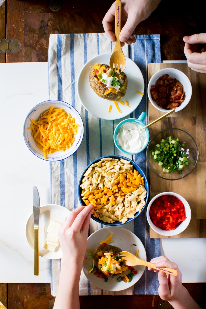 Baked Potato Bar - Yeah…Immaeatthat