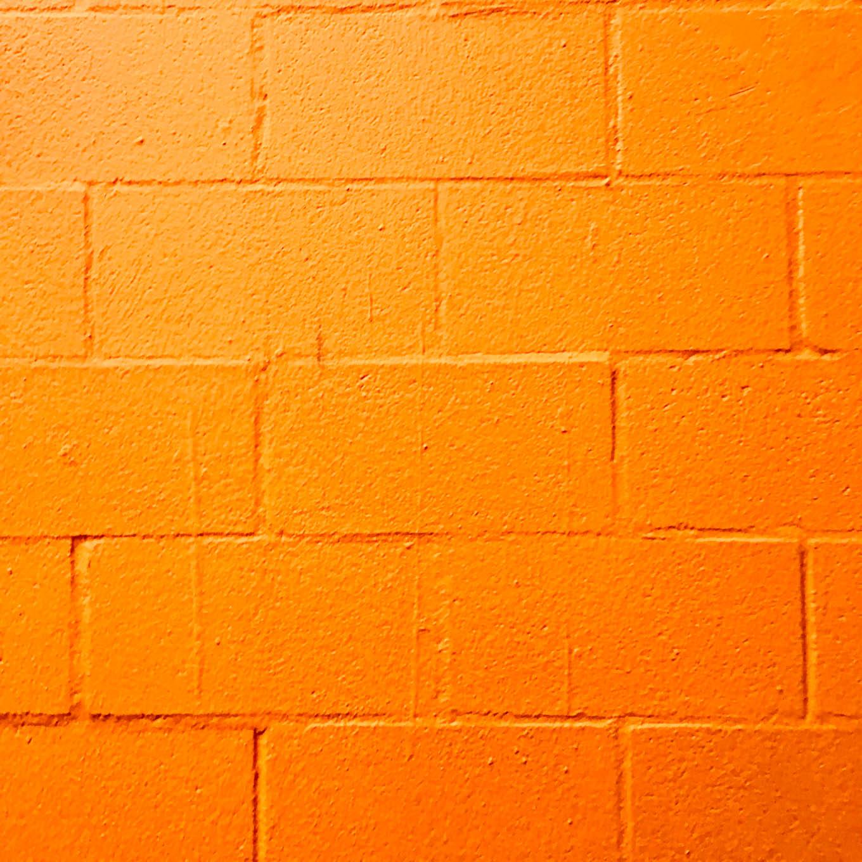 orange brick.
