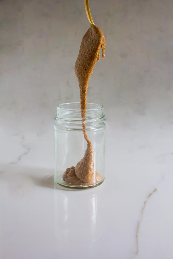 dark chocolate honey roasted almond butter | immaEATthat.com